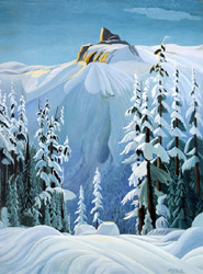An original Canadian painting by Donald Flather
